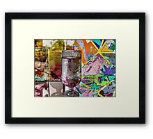 The Glass Framed Print