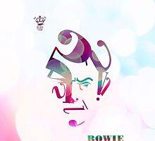 Typography David Bowie by MakoFufu