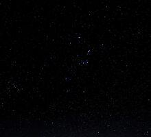 Orion's Belt (Constellation) by Matthew Hockley