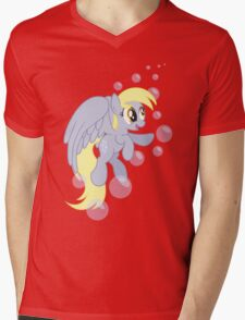 I BUCKING LOVE MUFFINS (My Little Pony: Friendship is Magic) Mens V-Neck T-Shirt