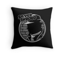 SILVER SHROUD Throw Pillow