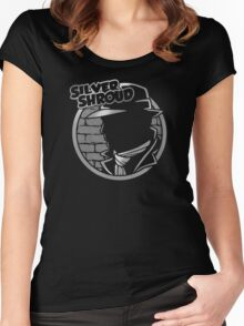 SILVER SHROUD Women's Fitted Scoop T-Shirt