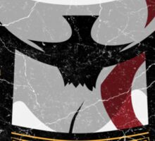 The Glorious Kratos - God of War Sticker