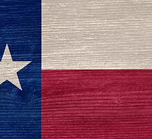 Texas State Flag by Gordon  Beck