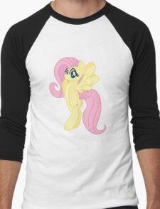 Fluttershy Hoodie (My Little Pony: Friendship is Magic) Men's Baseball ¾ T-Shirt