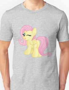 Fluttershy being Cute (from My Little Pony: Friendship is Magic) Unisex T-Shirt