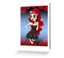 Queen of Roses Greeting Card