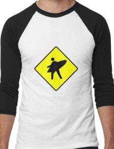 Gone Surfin' Men's Baseball ¾ T-Shirt