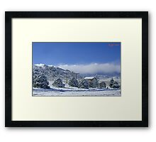 Colorado Chicken Coop Framed Print