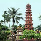Tran Quoc Pagoda, Hanoi by Geoffrey Higges