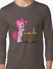 Pinkie Pie and Gummy Play Magic Shirt (My Little Pony: Friendship is Magic) Long Sleeve T-Shirt