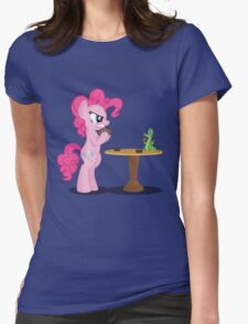 Pinkie Pie and Gummy Play Magic Shirt (My Little Pony: Friendship is Magic) Womens Fitted T-Shirt