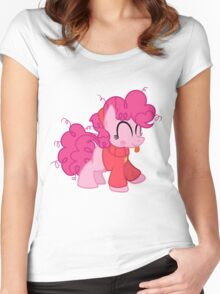 Pinkie Pie as Mabel Pines Shirt (My Little Pony: Friendship is Magic) Women's Fitted Scoop T-Shirt