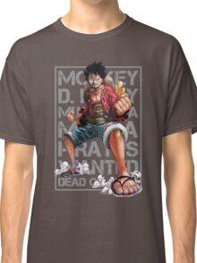 THIS IS MANGA - LUFFY SPLATTER 01 Classic T-Shirt