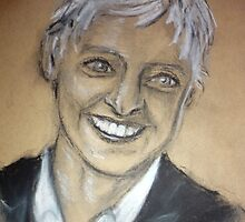 Ellen DeGeneres by Michelle Spivak