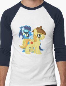Soarin x Braeburn Shirt (My Little Pony: Friendship is Magic) Men's Baseball ¾ T-Shirt