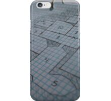 DnD Map 1 iPhone Case/Skin