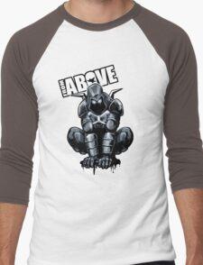 From Above Comic Book Men's Baseball ¾ T-Shirt