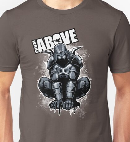 From Above Comic Book Unisex T-Shirt