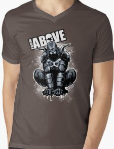 From Above Comic Book Mens V-Neck T-Shirt