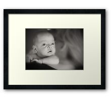 Deep baby thoughts Framed Print