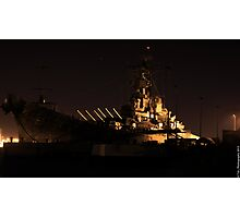 Battleship Photographic Print