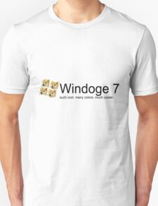 Windoge 7 T-Shirt