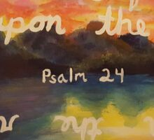 Psalms 24:3 Sticker