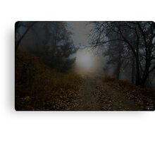 """""""Light at the end of the trail"""" Canvas Print"""