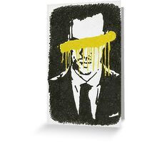 The Napoleon Of Crime Greeting Card