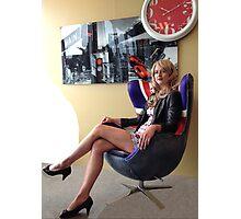 Waiting for Santa II Photographic Print