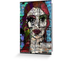 Dead Before I'm Born Greeting Card