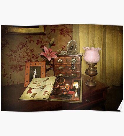 Victoriana Still life  Poster