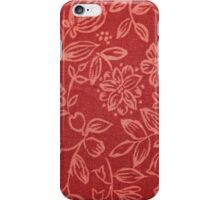 Flowers, Petals, Blossoms - Red iPhone Case/Skin