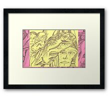 who conjured who Framed Print