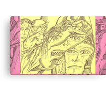 who conjured who Canvas Print