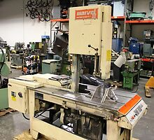 Himes Machinery - Vertical Saw Machine  by Himes Machinery