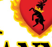 I Heart Stannis Sticker