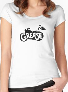 Grease 2 Women's Fitted Scoop T-Shirt