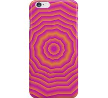Psychedelic Seventies spider web iPhone Case/Skin