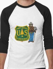 US Forest Service - Department of Agriculture Men's Baseball ¾ T-Shirt