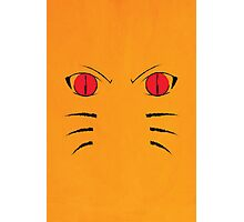 Naruto Poster - Nine Tails Fox Photographic Print
