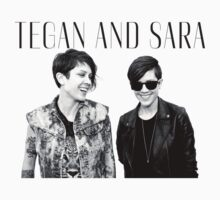 Happy Tegan and Sara + logo by Virginie Le Guen-Bertheaume