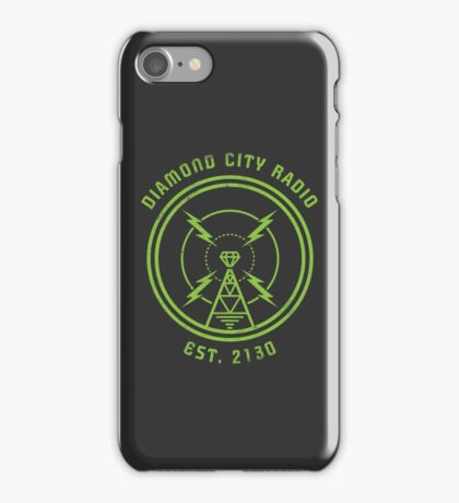 DIAMOND CITY RADIO iPhone Case/Skin