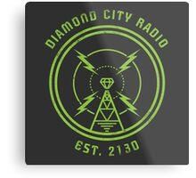 DIAMOND CITY RADIO Metal Print