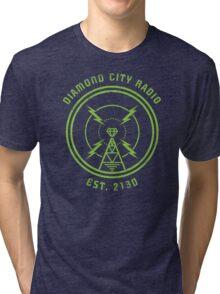 DIAMOND CITY RADIO Tri-blend T-Shirt