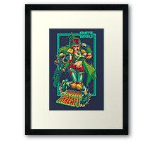 SKATE WARS: BOBA THREATT Framed Print