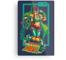 SKATE WARS: BOBA THREATT Metal Print