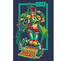 SKATE WARS: BOBA THREATT Photographic Print