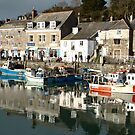 Padstow Harbour by Samantha Higgs